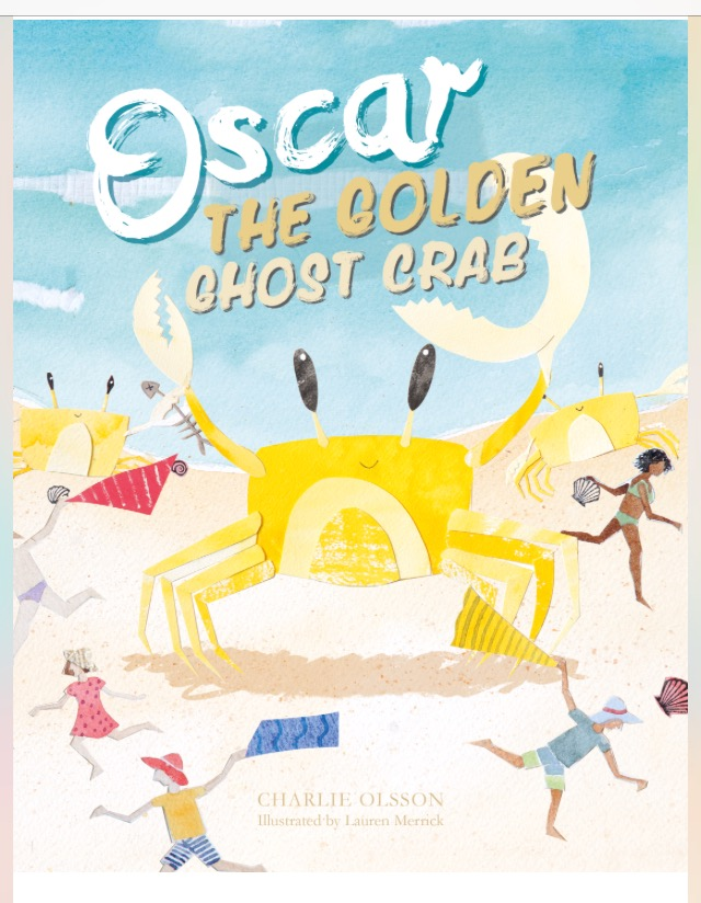 Oscar the Golden Ghost Crab